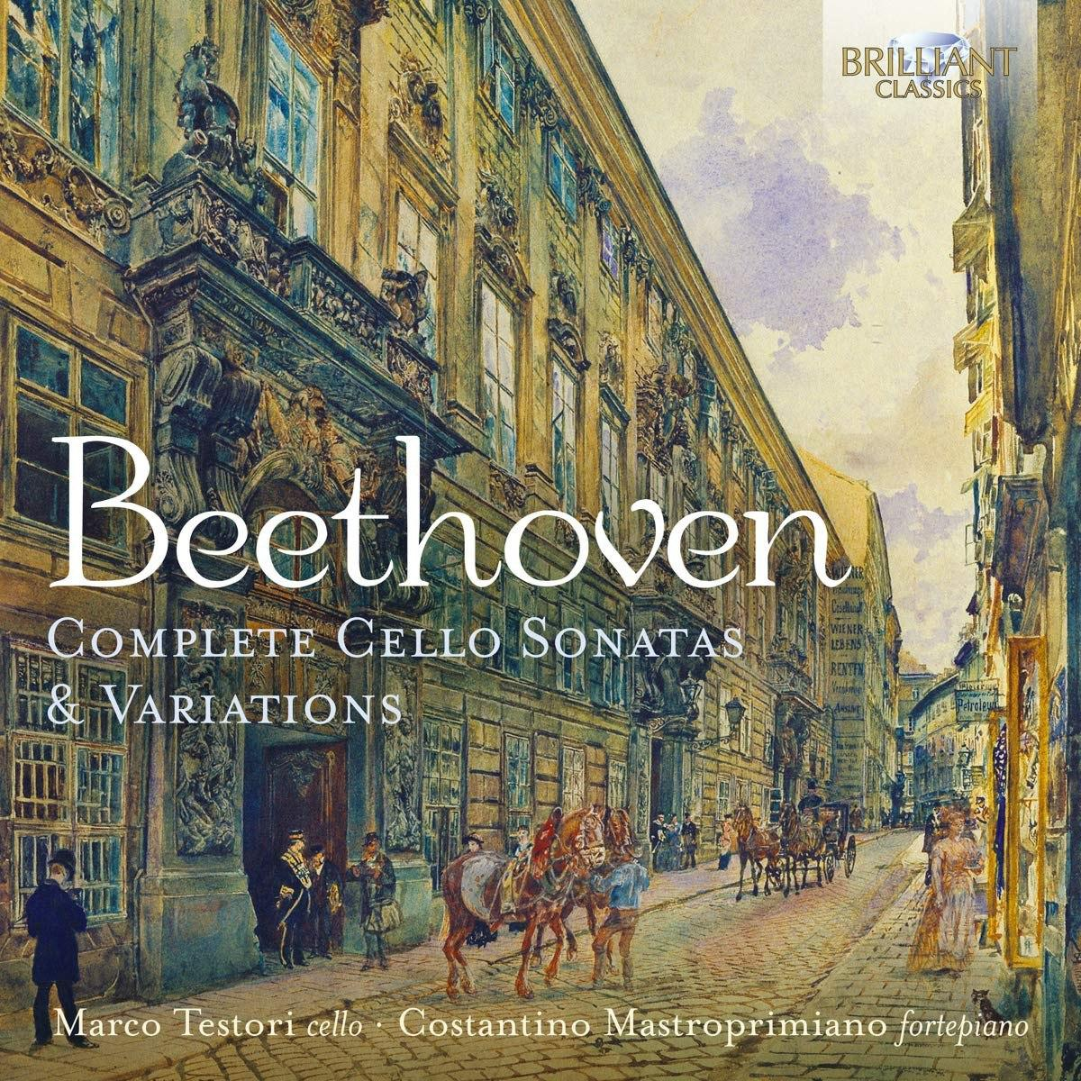 Beethoven Complete Cello Sonatas and Variations
