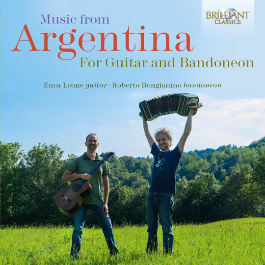 Leone-Bongianino, Music from Argentina for Guitar and Bandoneon